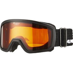 Alpina Scarabeo Doubleflex S2 - Gafas de esquí Niños - negro